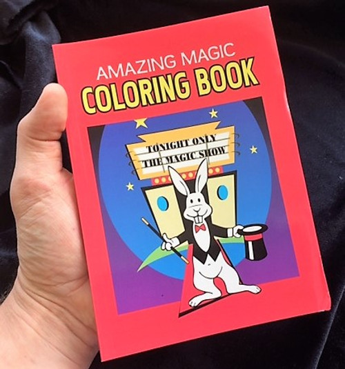 Magic Colouring Book - A5 Size - Colourful magic anywhere any time ...
