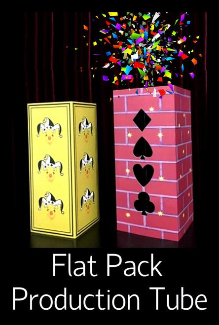 Fold Pack Flat Production Tube Magic Trick Circle Square
