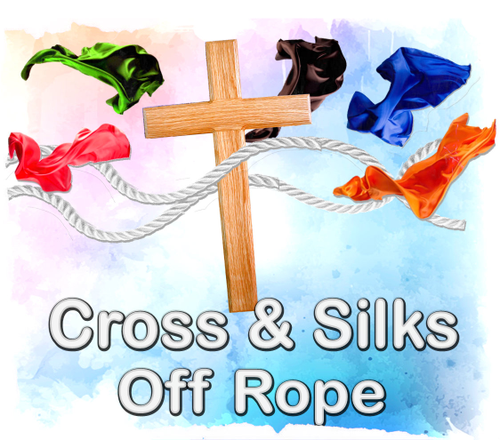 Cross & Silks Off Rope Gospel Magic Trick
