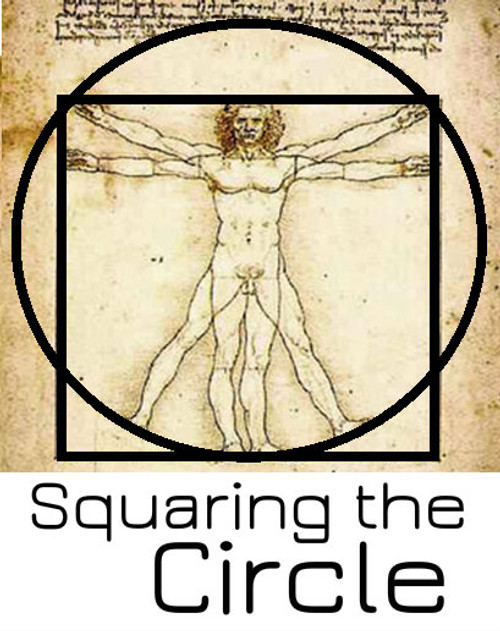 Squaring the Circle Magic Trick Gospel