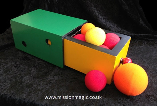 Wooden Drawer Box www.missionmagic.co.uk
