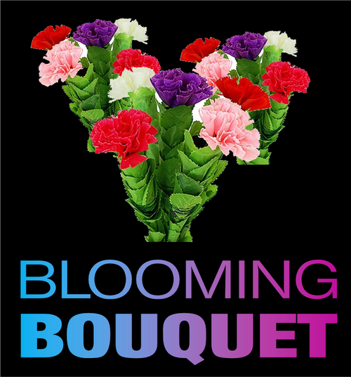 Blooming Cloth Bouquet Magic Trick professional flowers