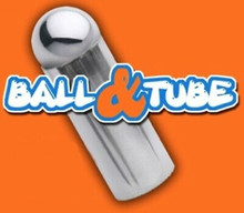 Steel Ball and Tube Magic Trick Includes Cascade Bag Easy Beginner Magic Trick
