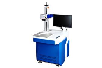 Fiber Laser Metal Engraving Station
