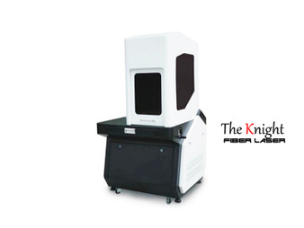 Enclosed Fiber Optics  Laser Metal Engraving Machine