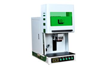 30W Enclosed Desktop Fiber Laser Metal Engraver