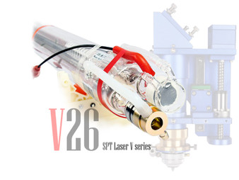 SPT V26  200W CO2 Sealed Laser Tube