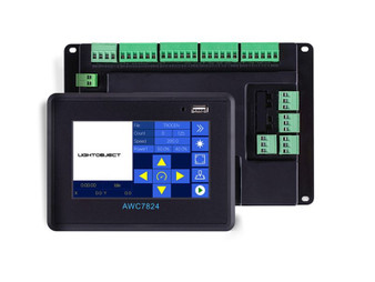 Trocen AWC7824 TouchScreen DSP Controller Card for CO2 Laser Engraving/Cutter with Color Screen