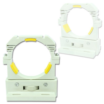 High Quality 80mm Laser Tube Mount  w/ 0.5 inch Height Adjustment(pair)