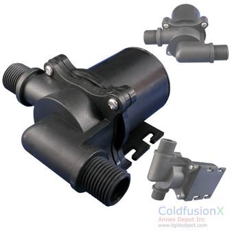 20L/m (310GPH) DC12V High Temperature (80C) Brushless Water pump