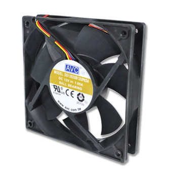 AVC 12cm DC12V Ball Bearing Cooling Fan