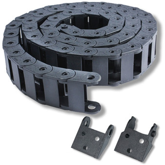 1m (3.3ft) Cable carrier join 10x 20mm