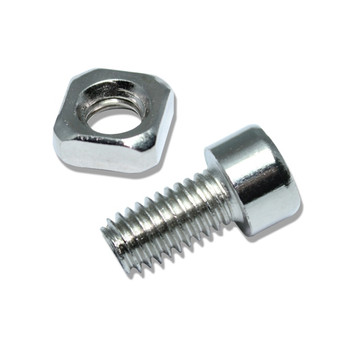 Pack of five M8 Hex Screws and Nuts