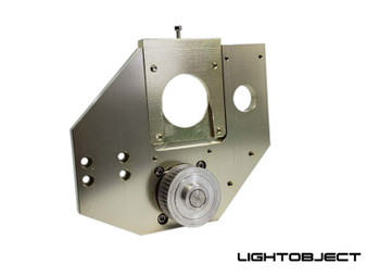 2:1 X-axis reduction gearbox for DIY CO2 laser machine