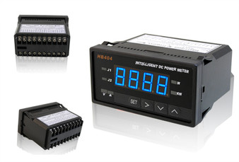 Programmable Digital DC Power Watt Meter (Blue LED w/ Control)