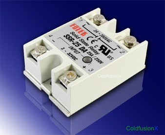 25A Solid State Relay SSR DC In AC Out