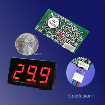 3 Digit Mini Red LED 100V Volt Meter