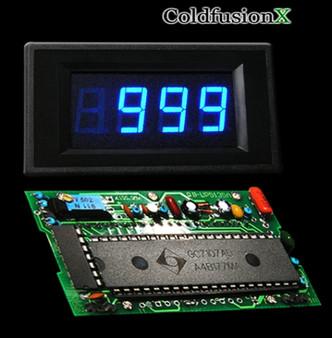 3-1/2 Digital Blue LED 1000V Meter