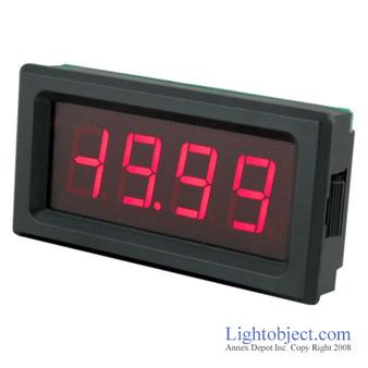 3-1/2 Digital Red LED DC 2V 20V Meter  (8135)