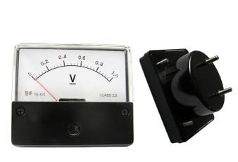 DC 0-1V Analog Panel Meter