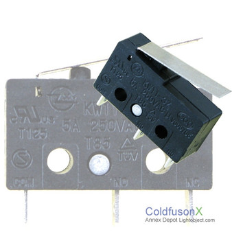 A pack of 5 Micro Limit Sensor Switch B1