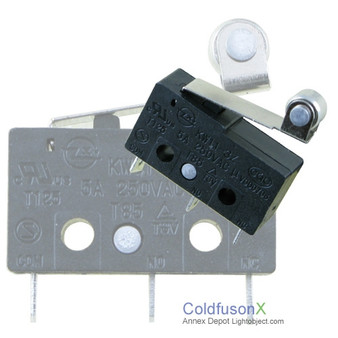 A pack of 5 Micro Limit Sensor Switch C1