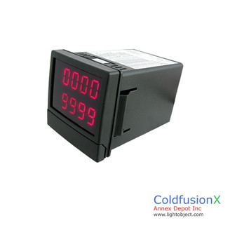 Programmable Digital Timer Counter Accumulator up to 9999 day