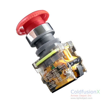 Emergency Push Button Switch with lock