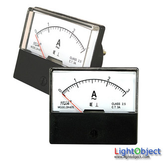 AC 0-3A Analog Current Panel Meter