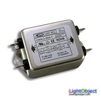 AC electricity EMI filter 20A
