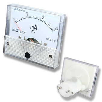 Small DC 30mA Analog Panel Meter