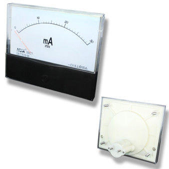 Large DC 30mA Analog Panel Meter