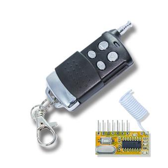 4CH Crystal-lock RF Remote Control (long range)