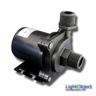 High Pressure 20L/m (317GPH) DC24V High Temperature (100C) Brushless Water pump w/ Speed Control