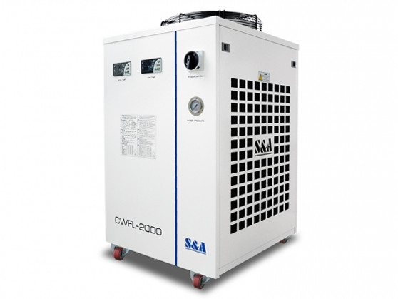S & A Industrial Chiller For Cooling 2000W Fiber Lasers