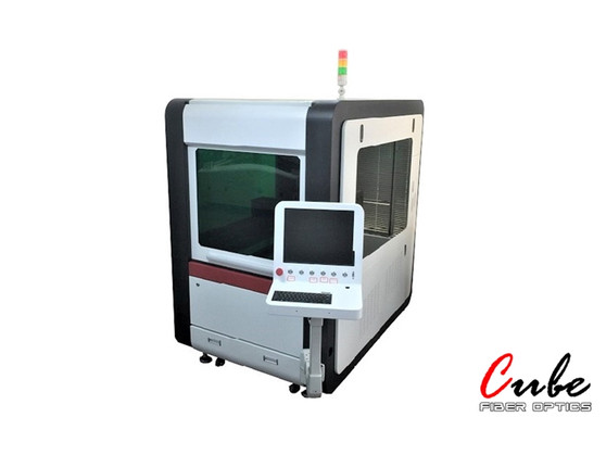 Cube 500W Small Footprint Fiber Laser Metal Cutter
