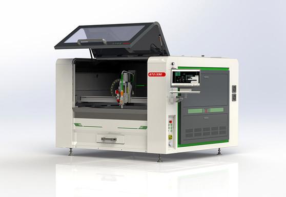 COMBO Fiber Laser + CO2 Metal and Non-Metal Cutting Machine