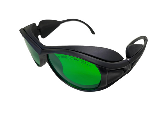 190~470nm 610~760nm UV Blue Red Laser Eyes Protection Glasses/Goggle.