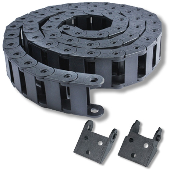 1m (3.3ft) Cable carrier join 18x 37mm