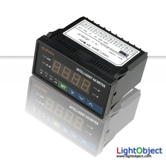 Programmable Digital AH meter (red led). Ideal for battery monitoring