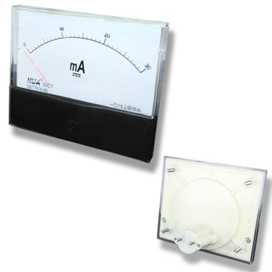 Large DC 30mA Analog Panel Meter