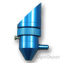 20mm 18mm 15mm 12mm Laser Head w/Air Assist. Ideal for K40 Machine