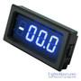 3-1/2 Digital Blue LED DC 2V 200V Meter  (8135)