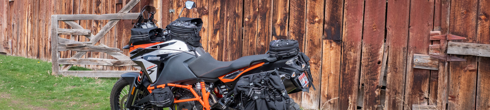 OBR ADV Gear Motorcycle Bags and Grip Mitts