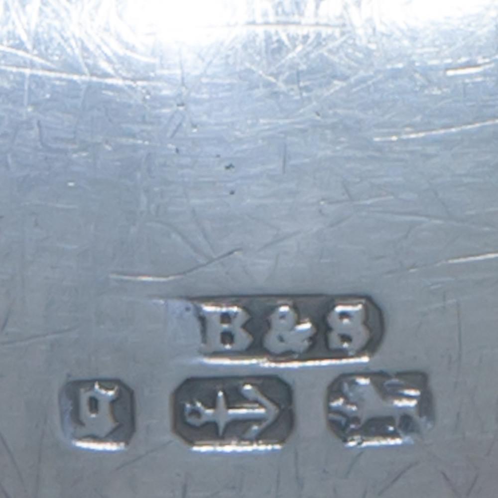 The Hallmarks on a Victorian Silver Bracelet