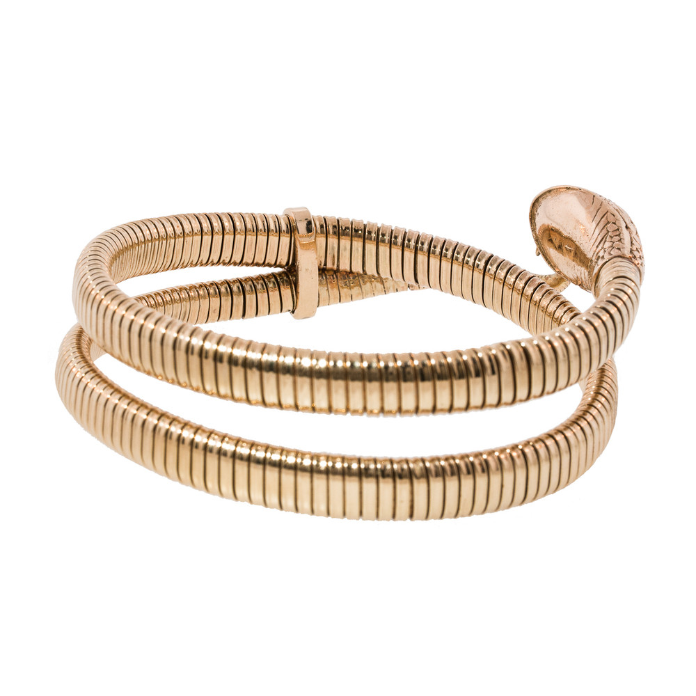 A Snake Bracelet with Multiple Coils