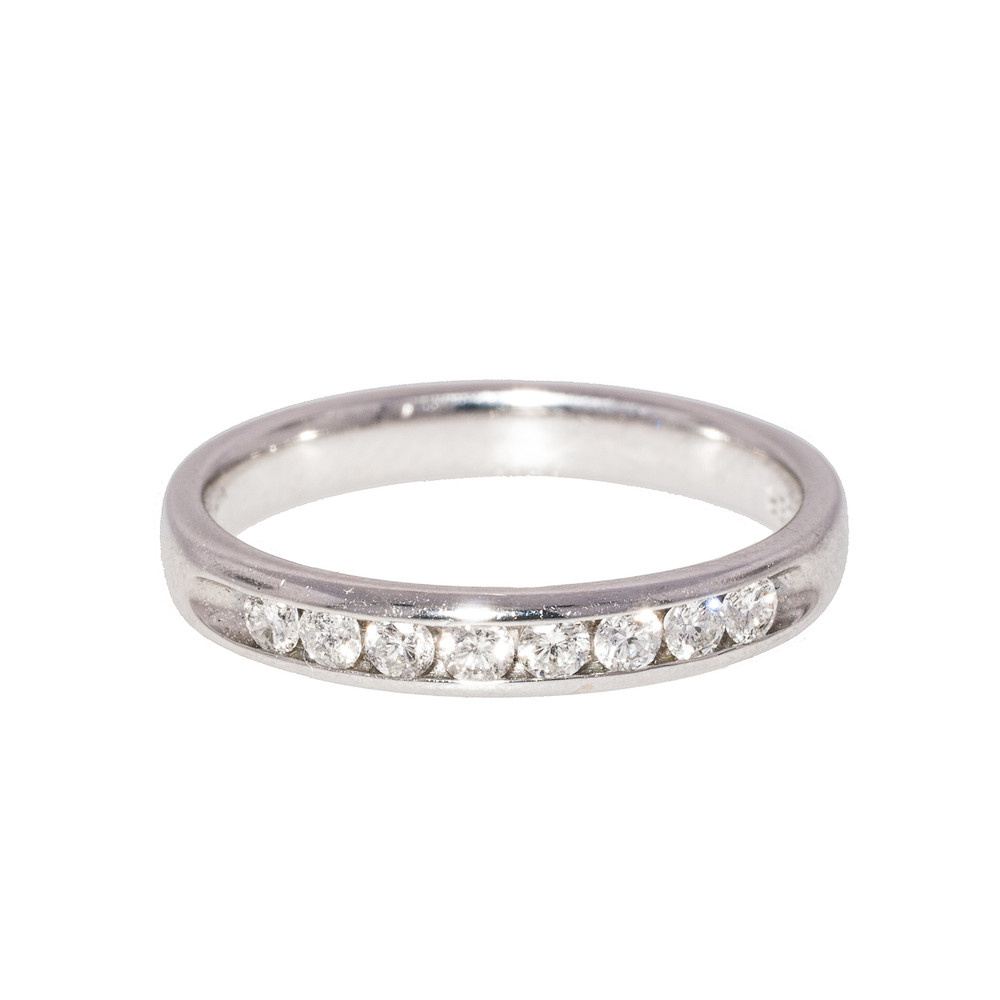 Diamond Half-Eternity Band Ring
