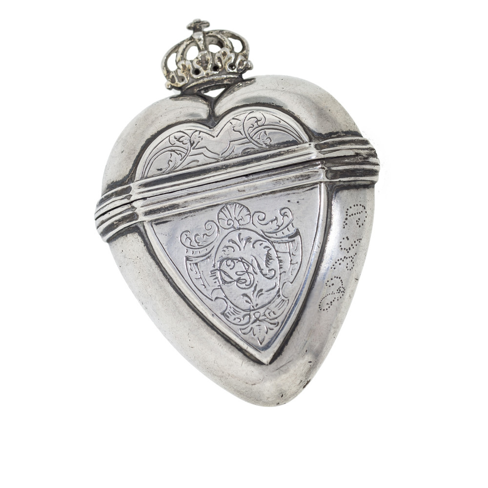 Antique Silver Heart Pendant