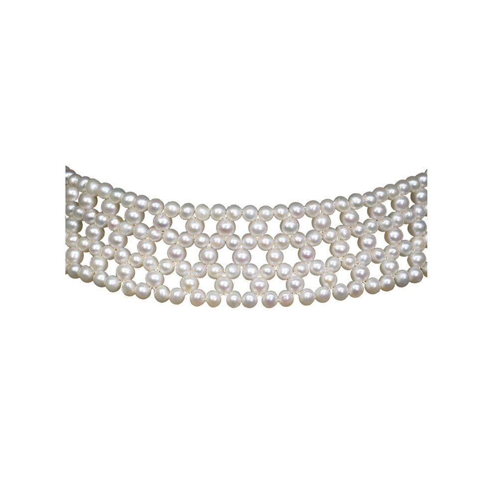 Cultured Pearl Choker Necklace
