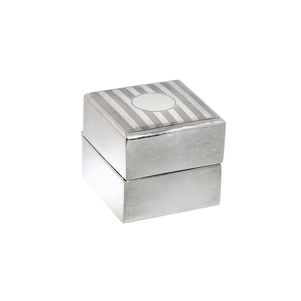 Art Deco Engagement Ring Box
